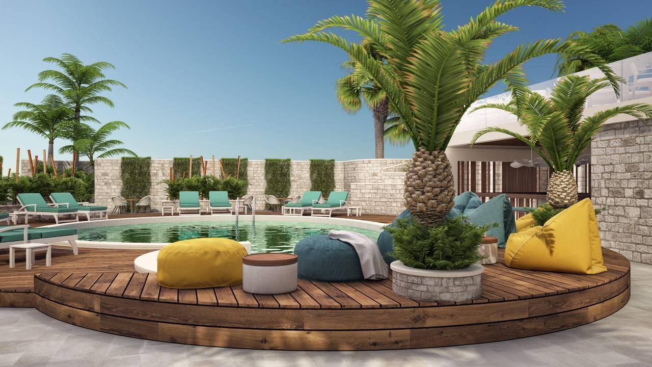 Pool_palms